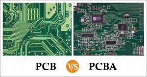 difference-between-PCB-and-PCBA